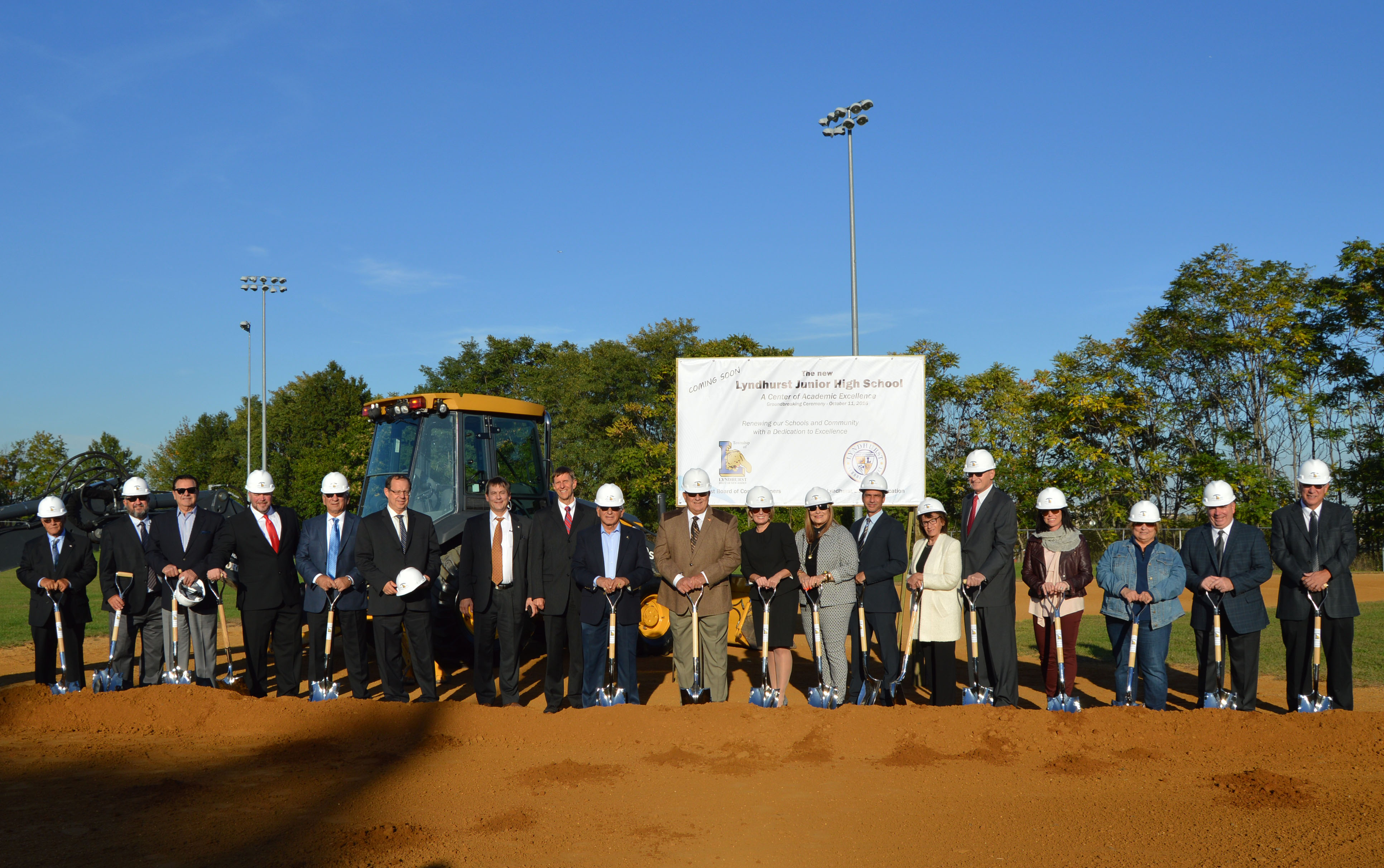 Lyndhurst Jr. HS Groundbreaking