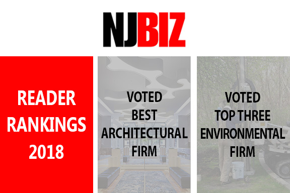 NJBIZ Ranks LAN as a Best Architecture and Environmental Firm