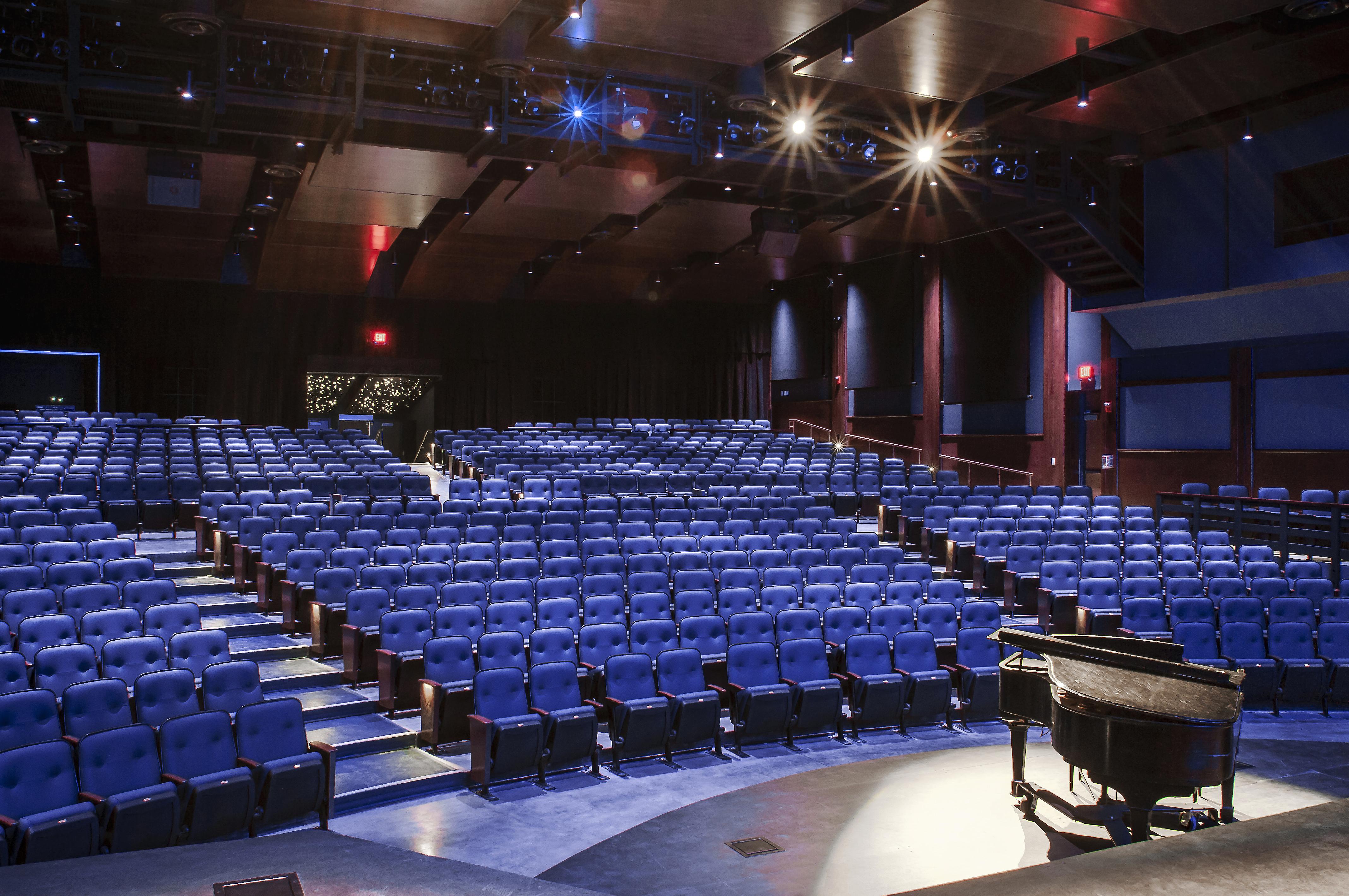 LAN Associates Architects Designed Auditorium