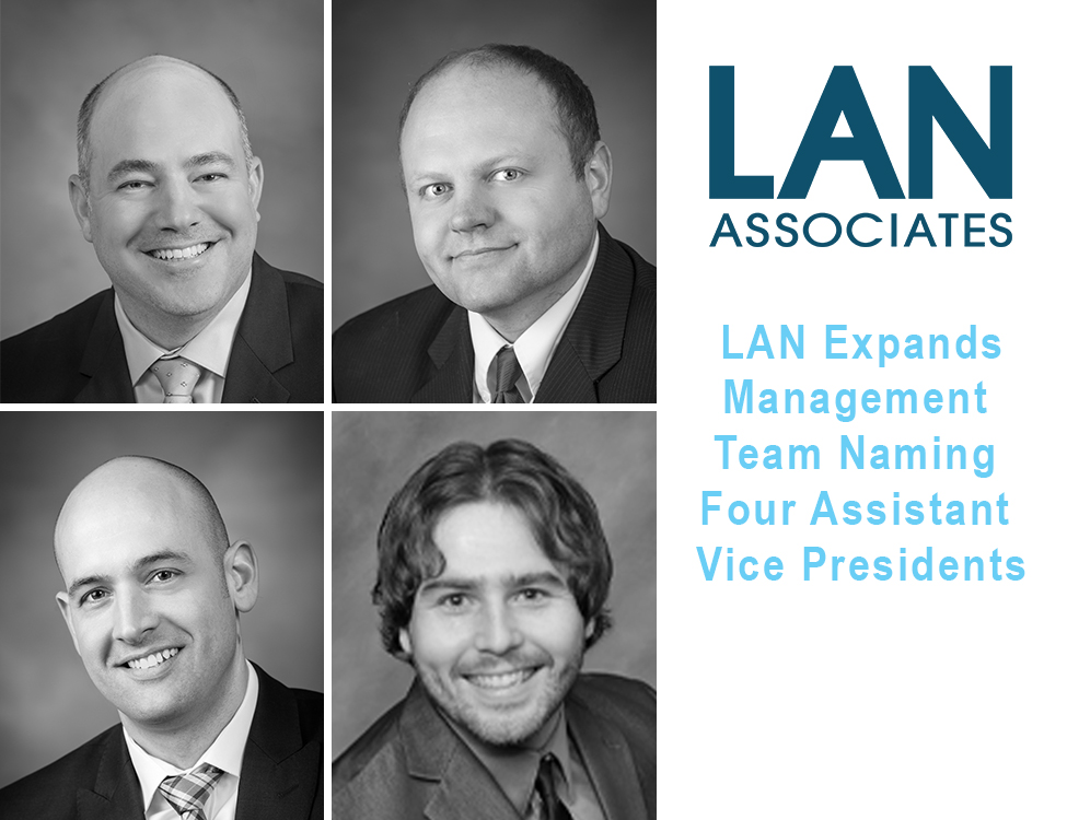 LAN Associates Names First Four Assistant Vice Presidents