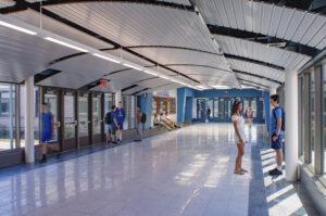 Goshen High School addition, Designed by LAN Associates