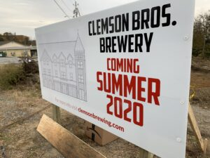 LAN Associates Architects Built Clemson Bro brewery
