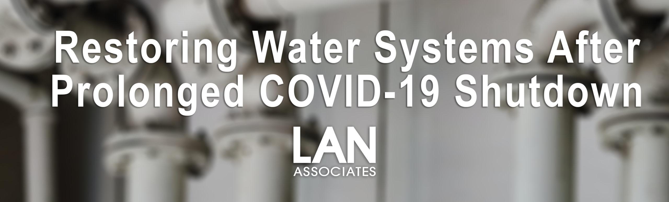 Plumbing and COVID-19 shutdowns