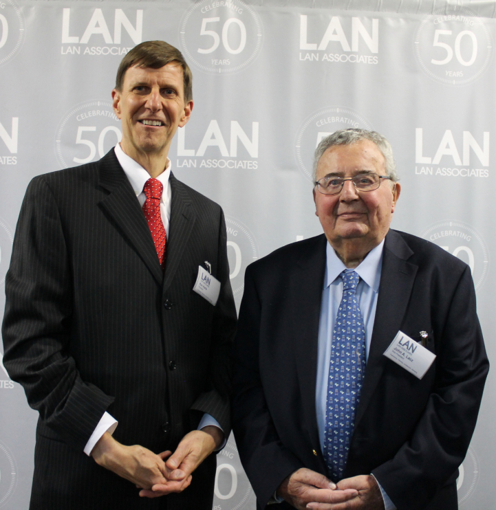 Photo of John Lacz and Kenneth Karle