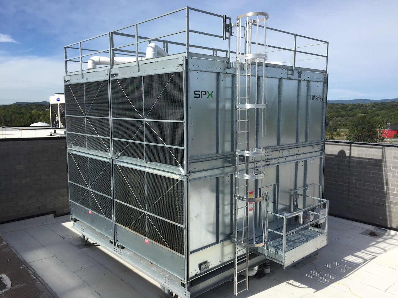 Pratt & Whitney Advanced Coating Technologies roof HVAC unit
