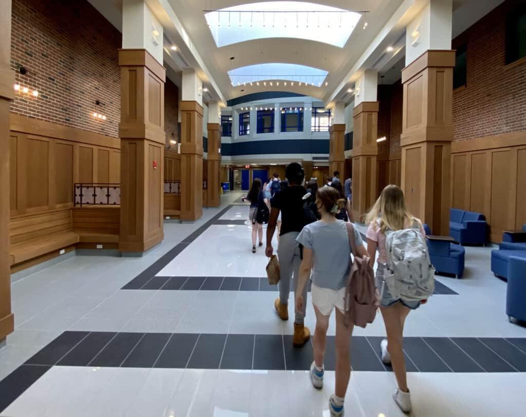 Bronxville school Hallway